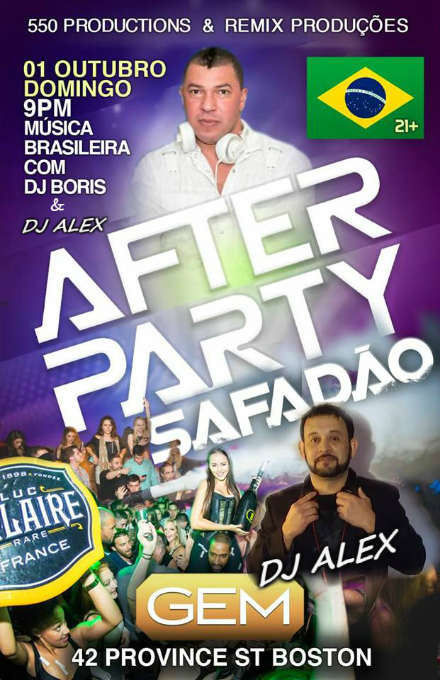 AFTER PARTY SAFADAO
